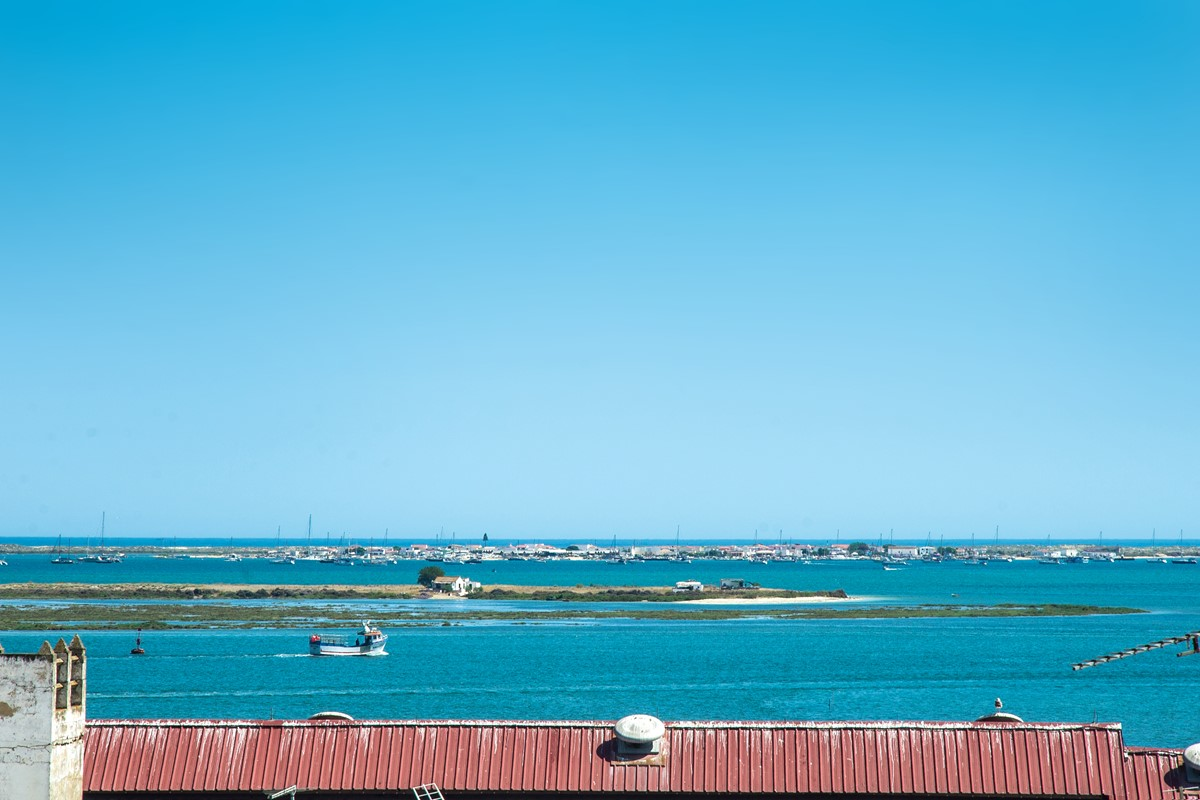 The best sea views in Olhao from the top terrace