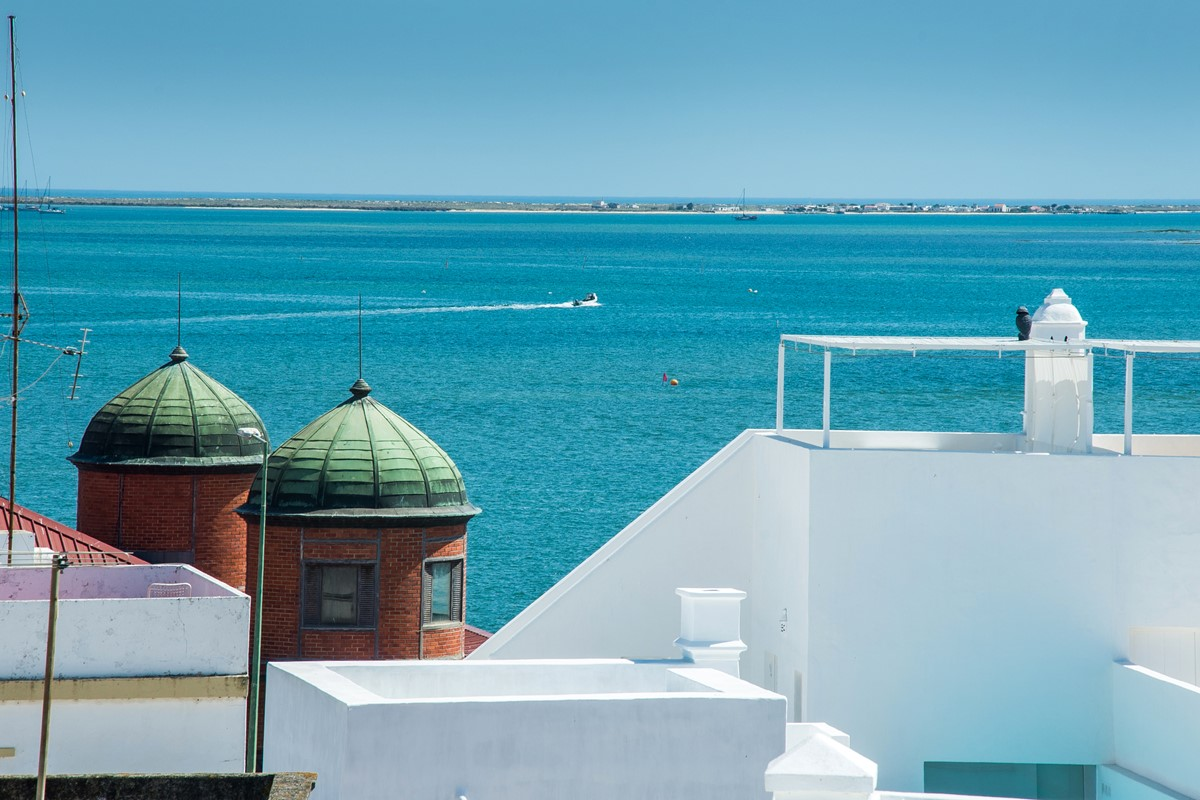 A real typical Olhao view form our 2 bedroom apartment with sea views