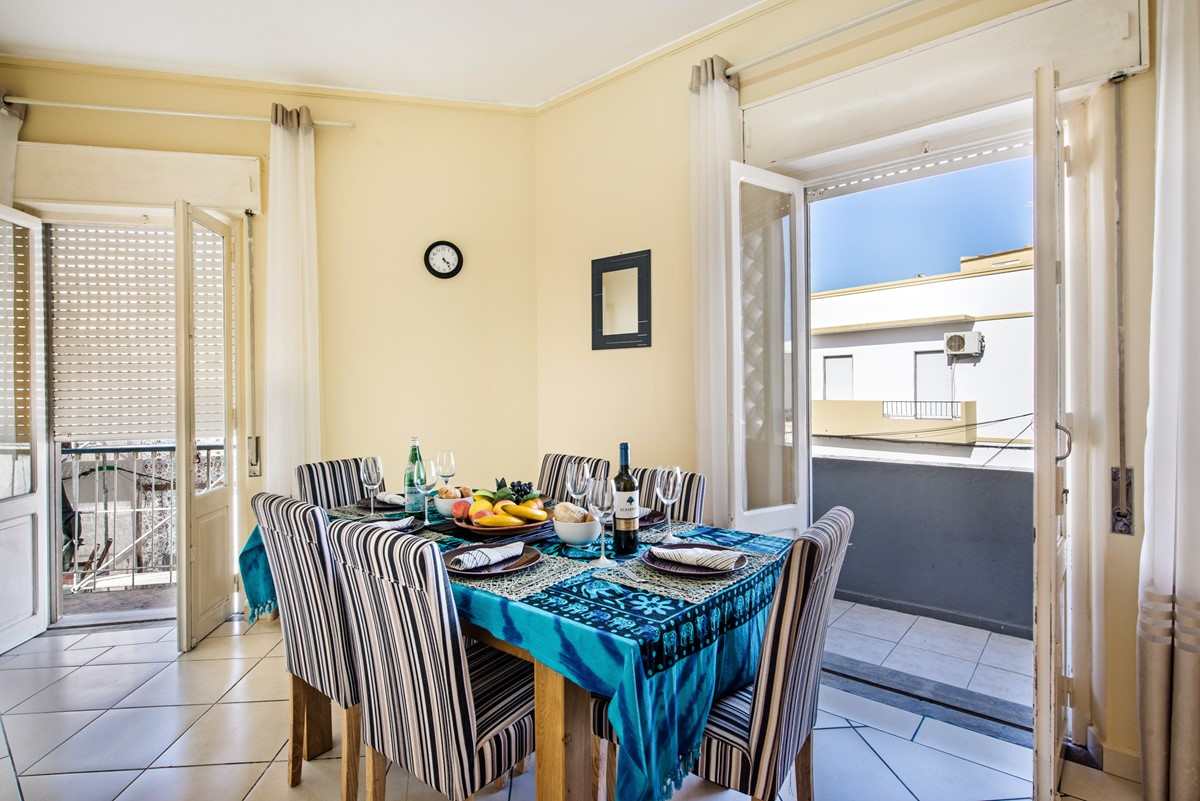 The welcoming dining space, perfect for family entertaining
