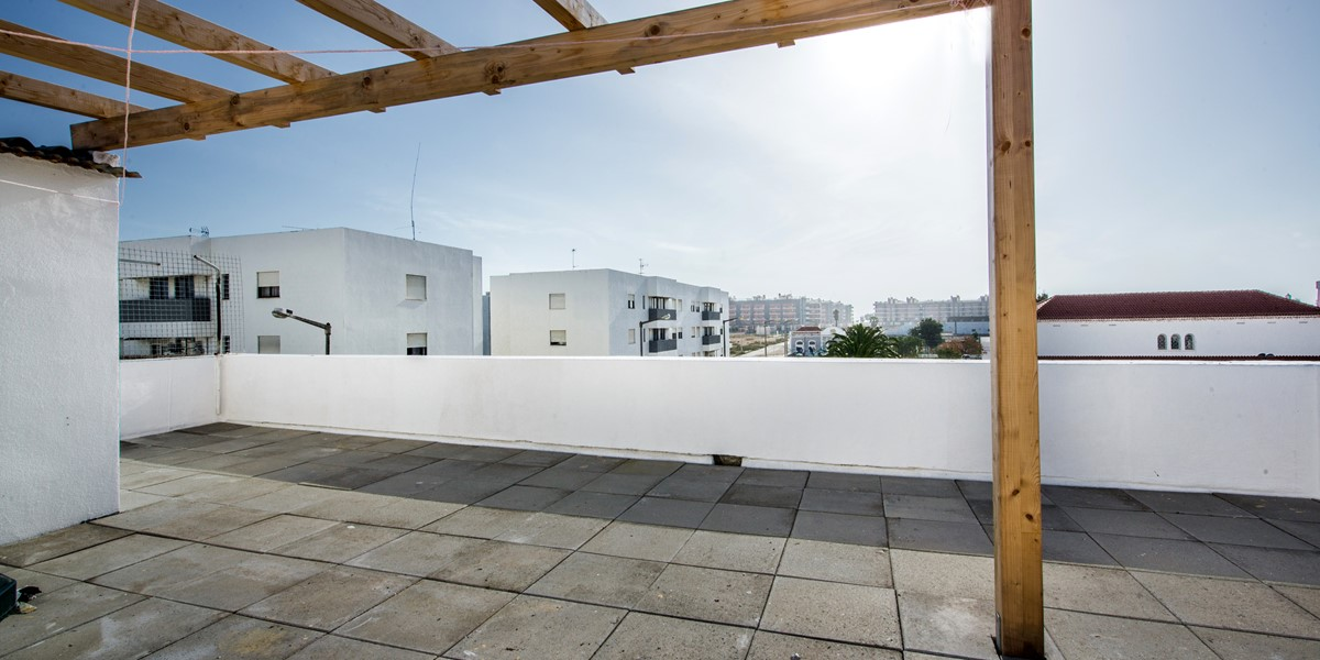 Our roof terrace at Apartment Gato
