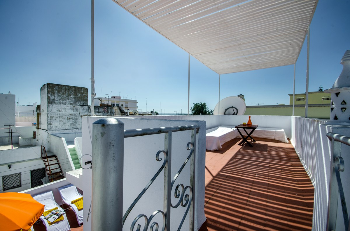 Gorgeous views over Olhao from our 3 bedroom townhouse