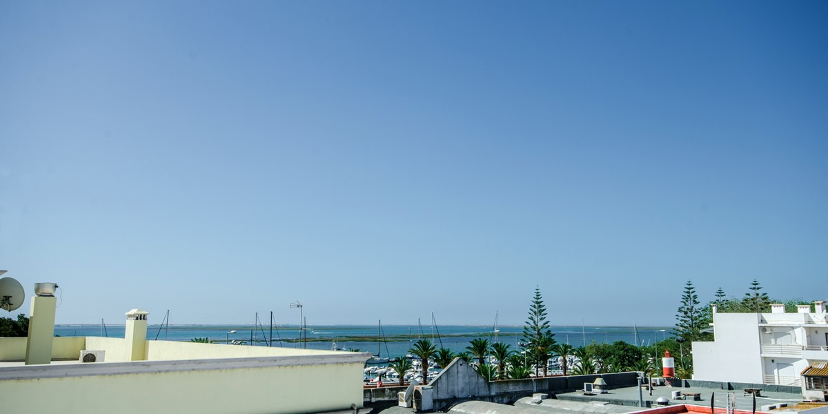 Sea views from the top terrace