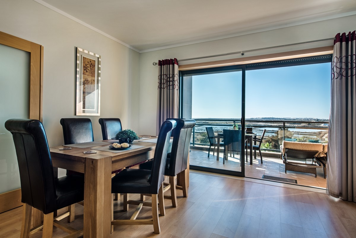 Gorgeous sea views from the dining area
