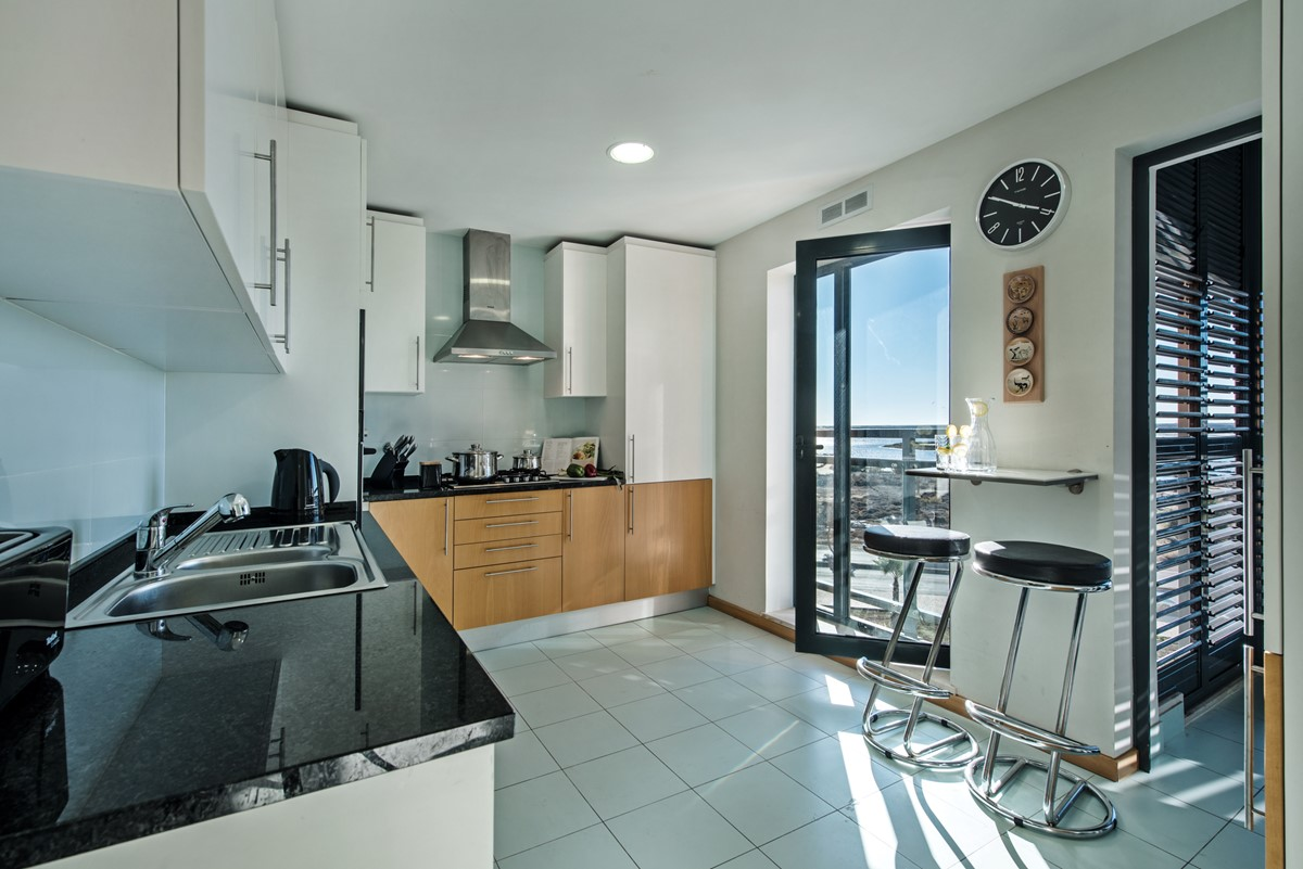Fully equipped Kitchen at Apartment Cegonha