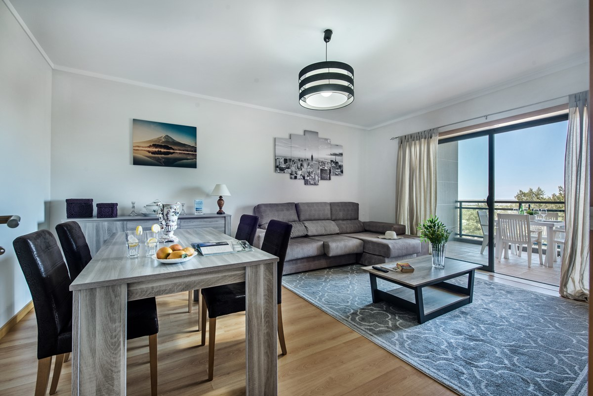 Modern living Space at our super 2 bedroom apartment with sea views