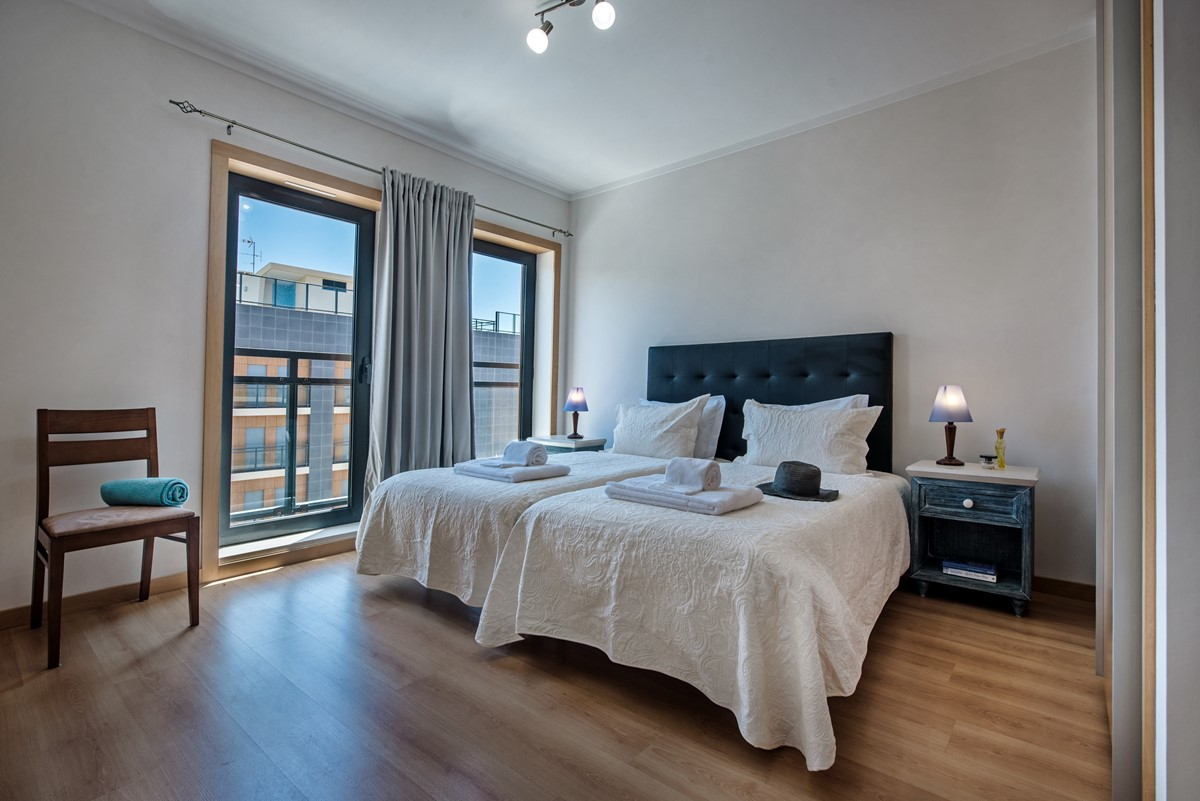 The Master Bedroom with a fabulous and very comfortable king size bed