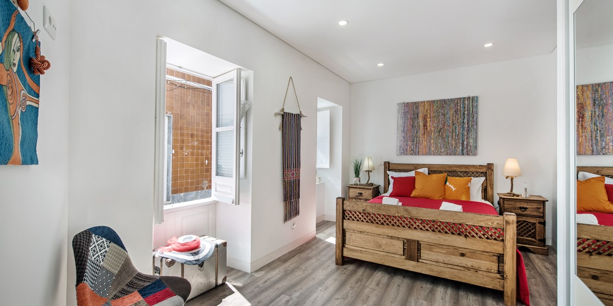 Ground Floor Bedroom with king size bed and en suite facilities
