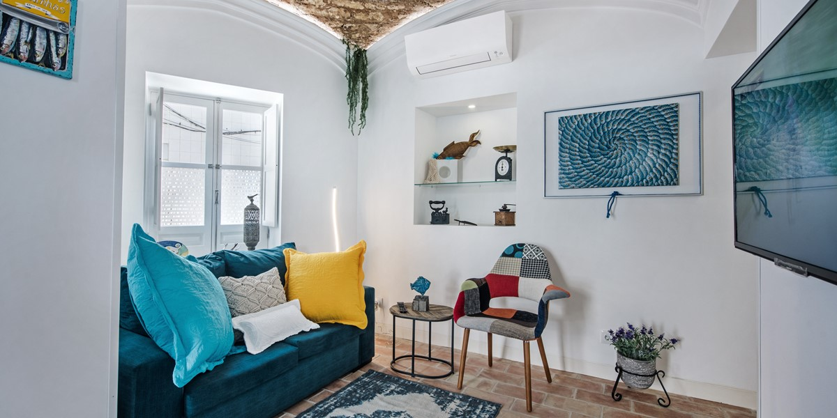 A comfortable place to enjoy some indoor time with a tv and great internet