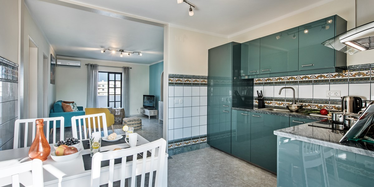 Lovely Modern Kitchen At Apartment Marinheiro