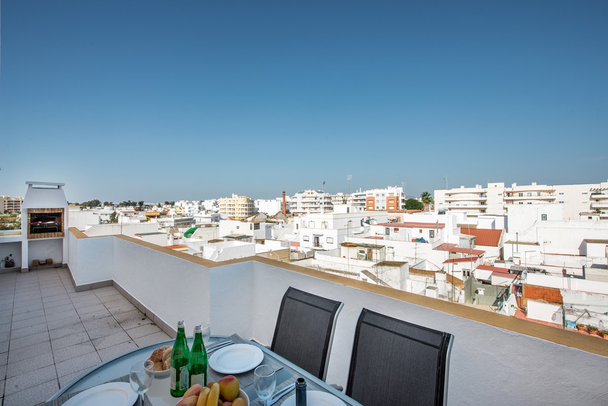 Olhao Roof Top Views From Our City Centre Location