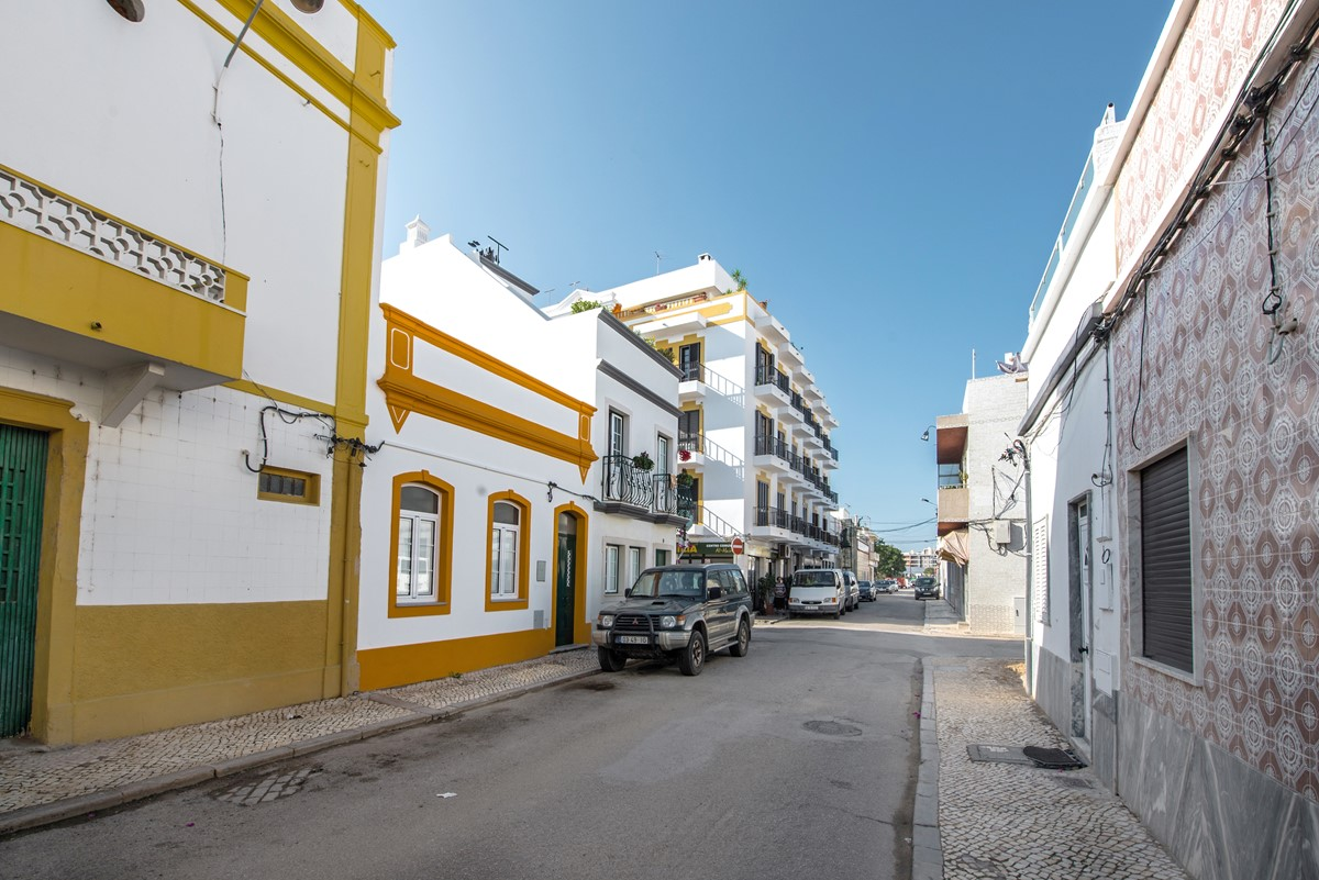 Traditional Olhao Street Life