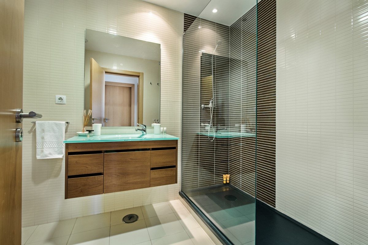 Bathroom At The 3 Bedroom Apartment