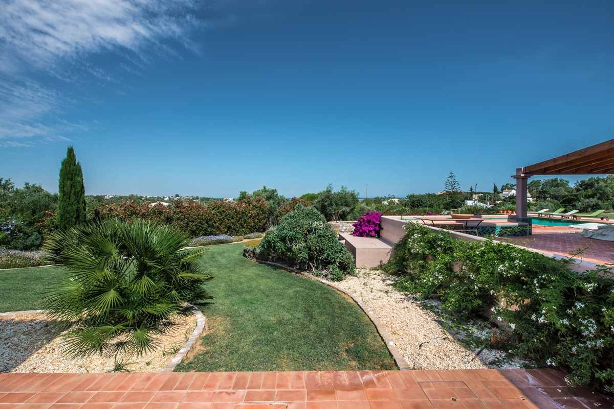 Garden And Sea Views Of The Protected Ria Formosa