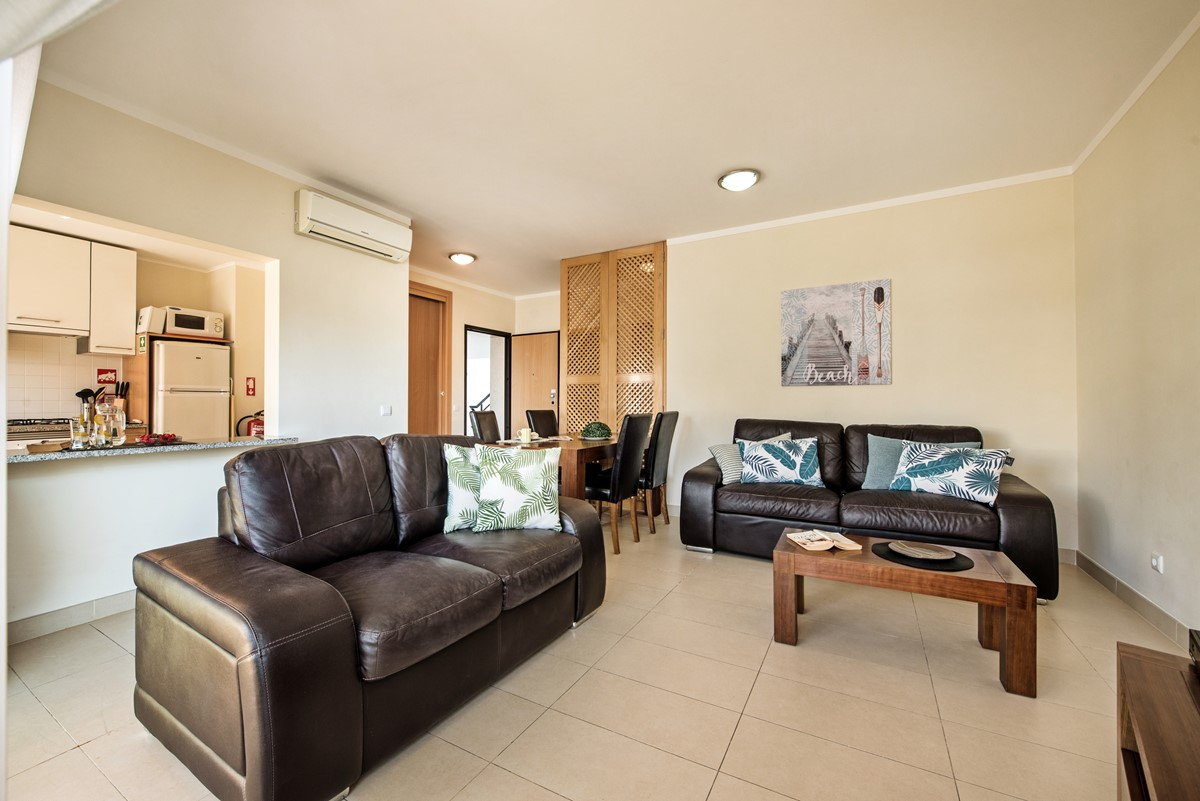 A Lovely Light Living Area In Our 2 Bedroom Apartment