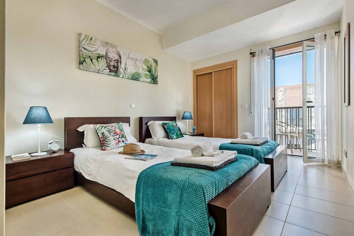 Our Gorgeous Twin Bedroom At Apartmnet Egret