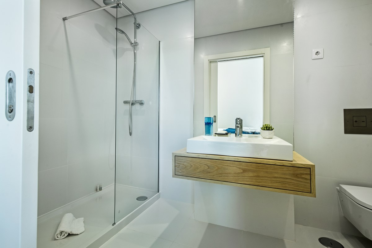 Ensuite For The Second Bedroom In Our 3 Bedroom Villa