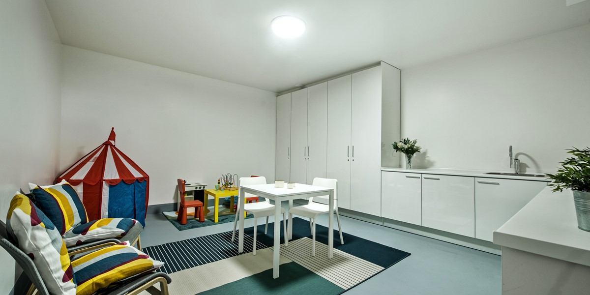 Playroom Utility Room Cool And Pleasant