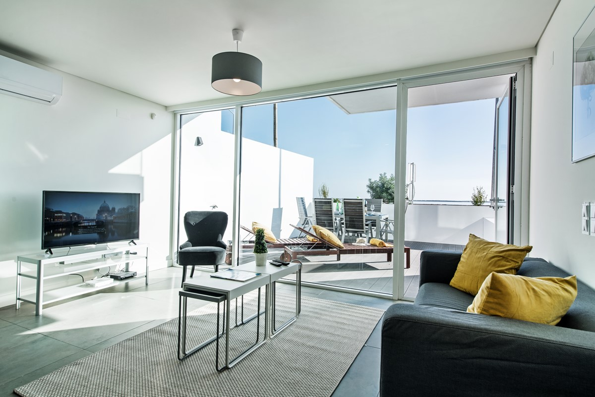 The Living Area With A Super Private Terrace And Fabulous Views
