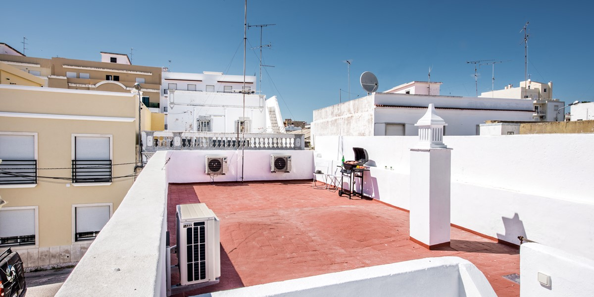 A Great Roof Terrace To Have A Bbq