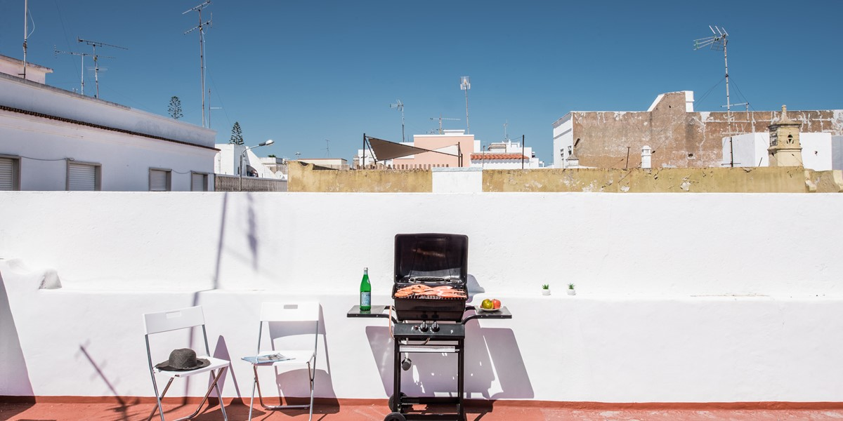 Enjoy The Rooftops On Cubist Olhao