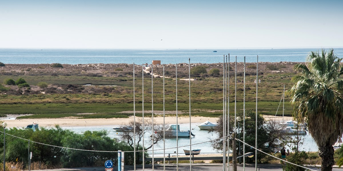 Views Of The Beautiful And Protected Ria Formosa Natural Park