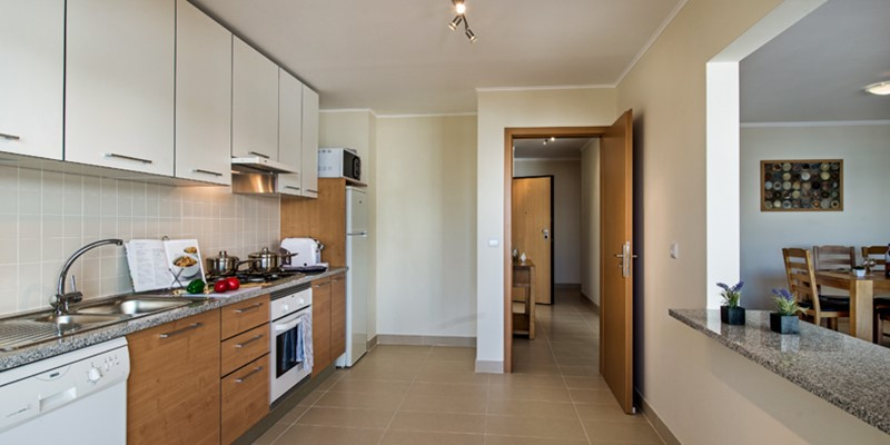 Excellent Size Kitchen Well Stocked And With A Useful Breakfast Bar