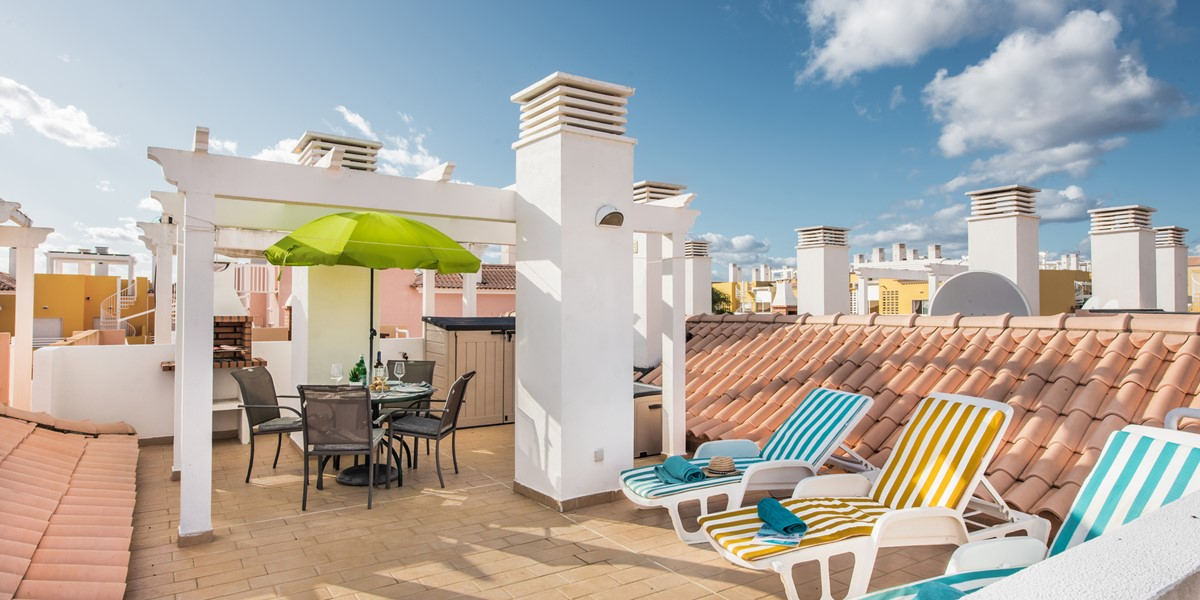An Amazing Roof Terrace And Seaside Colours