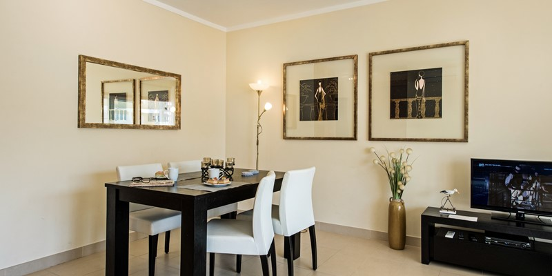 A Dining Area Inside To Enjoy Fresh Local Cuisine