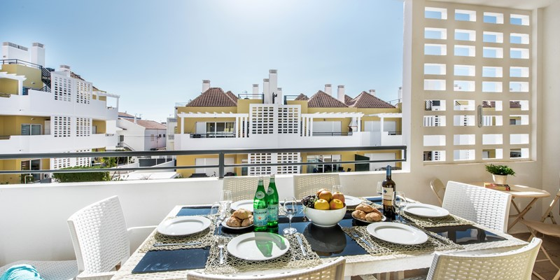 Al Fresco Dining On The Private Balcony