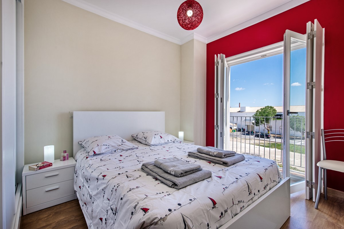 Gorgeous master bedroom in our town centre apartment