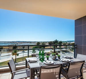 Gorgeous 3rd floor 3 bedroom apartment with sea views at Marina Village